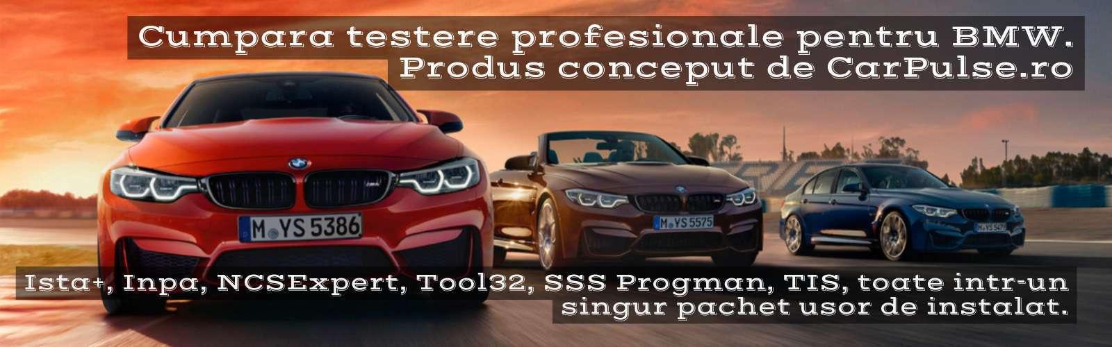 diagnoza profesionala BMW - inpa ista tool32 ncsexpert