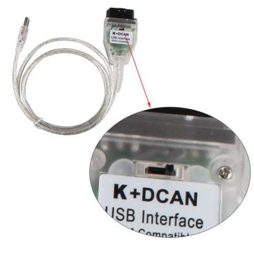 Inpa K+DCAN Interfata Bmw