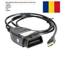 Interfata VAGCOM - VCDS 17.8 Romana/Engleza/Maghiara