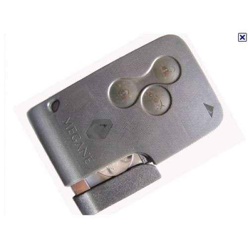 Carcasa cartela Megane 3 butoane
