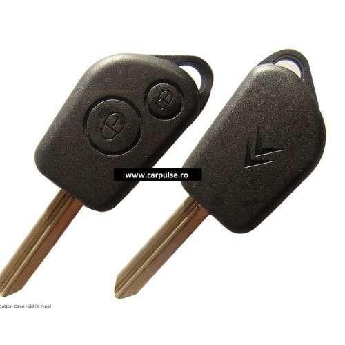 Carcasa cheie cu 2 butoane pentru Citroen tip vechi - x type