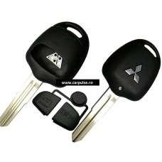Carcasa cheie cu 2 butoane pentru Mitsubishi MIT8