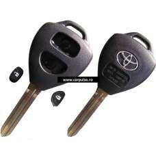 Carcasa cheie cu 2 butoane pentru Toyota(TOY43)