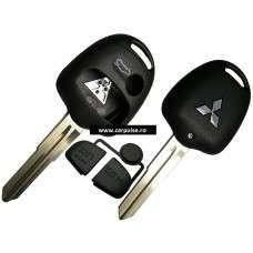 Carcasa cheie cu 3 butoane pentru Mitsubishi MIT8