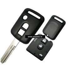 Carcasa de cheie cu 3 butoane pentru Nissan