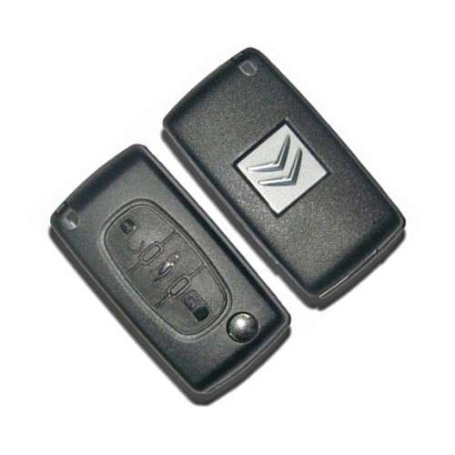 Cheie completa cu 3 butoane pentru Citroen