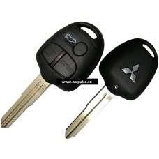 Cheie completa cu 3 butoane pentru Mitsubishi MIT8