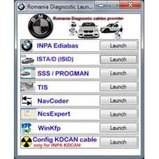 DIAGNOZA BMW INPA SSS NCSexpert ISTA/D Plus