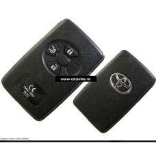 Smart card cu 3 butoane pentru Toyota