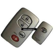 Smart card cu 4 butoane pentru Toyota